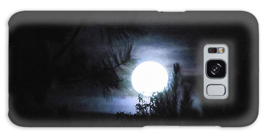 Art Galaxy S8 Case featuring the painting Mystic Moon by Gert J Rheeders