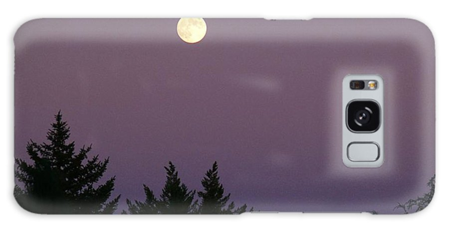 Full Moon Photo Galaxy S8 Case featuring the photograph Mystical Moon by Jacquelyn Roberts