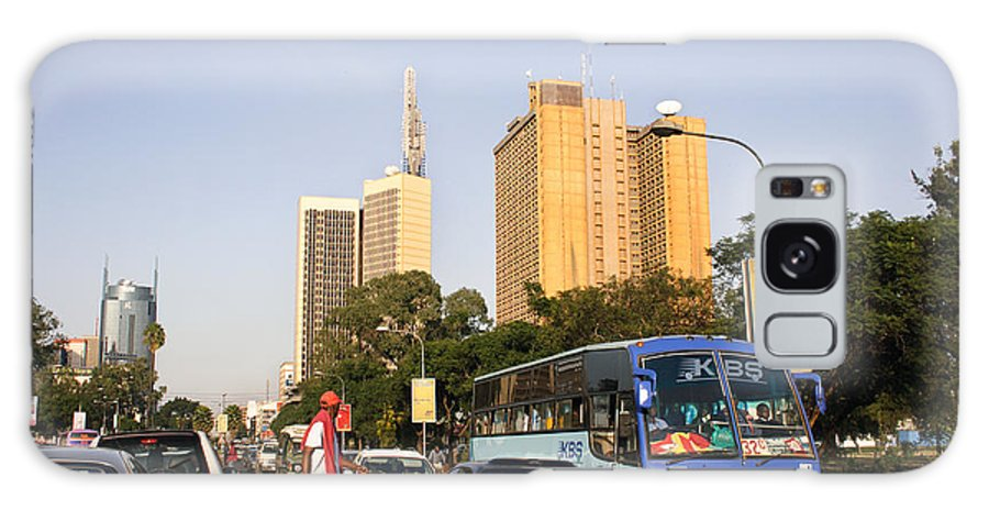 Africa Galaxy S8 Case featuring the photograph Nairobi City In The Sun by Morris Keyonzo