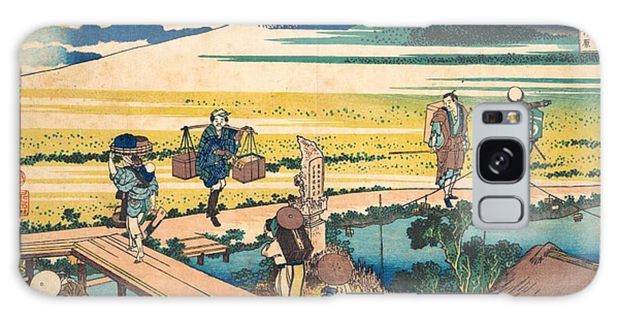 1830-1832 Galaxy Case featuring the painting Nakahara In Sagami Province by Katsushika Hokusai