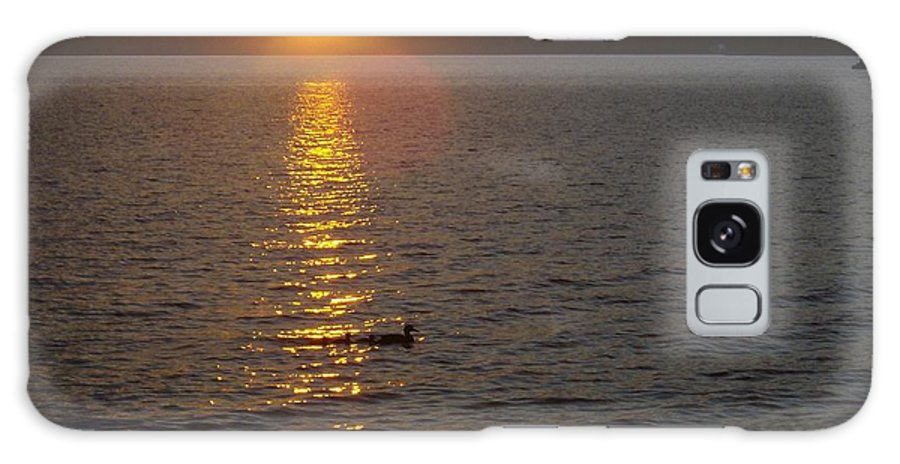 Lake Galaxy S8 Case featuring the photograph Namakagon Sunset by Laura Elder
