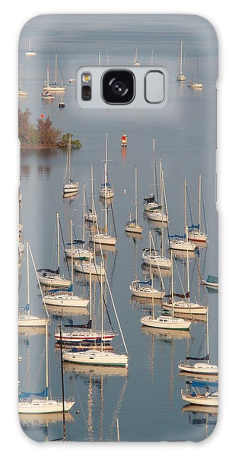 Naples Bay Galaxy S8 Case featuring the photograph Naples Bay by Samantha Evans