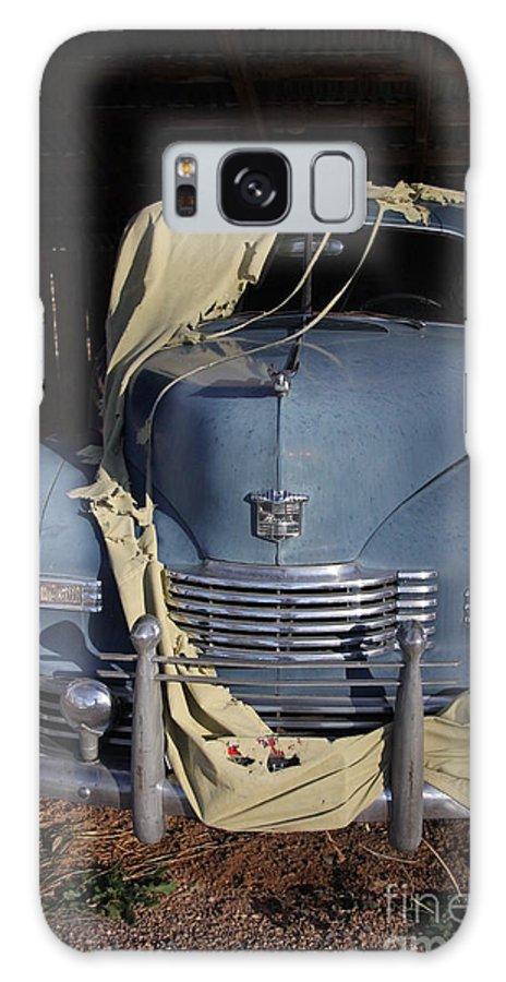1948 Nash Ambassador -old Car-blue- Galaxy S8 Case featuring the photograph Nash by Marlous Bleazard