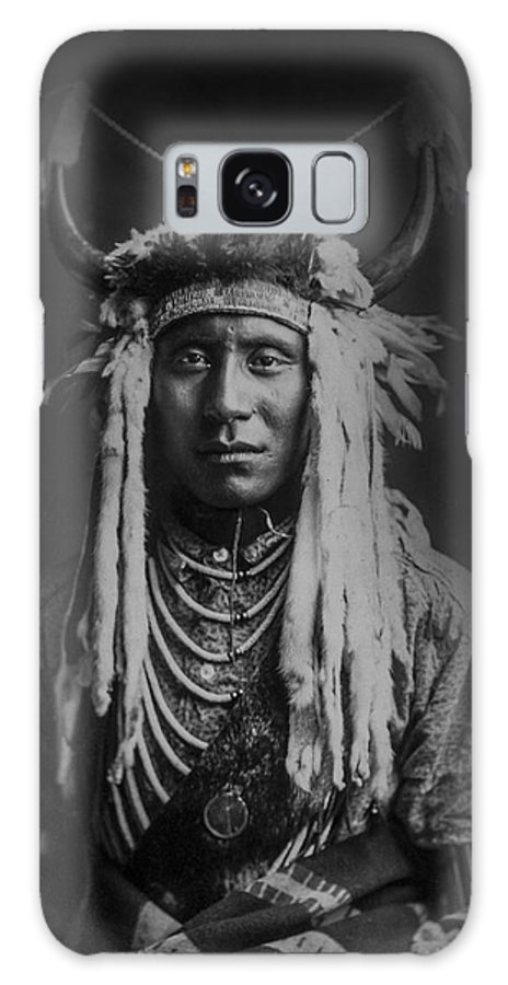 1900 Galaxy S8 Case featuring the photograph Native Man Circa 1900 by Aged Pixel