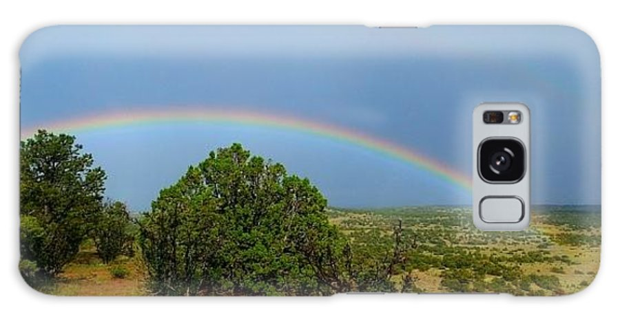 Rainbow Galaxy S8 Case featuring the photograph Native Rainbow by Dan Vallo