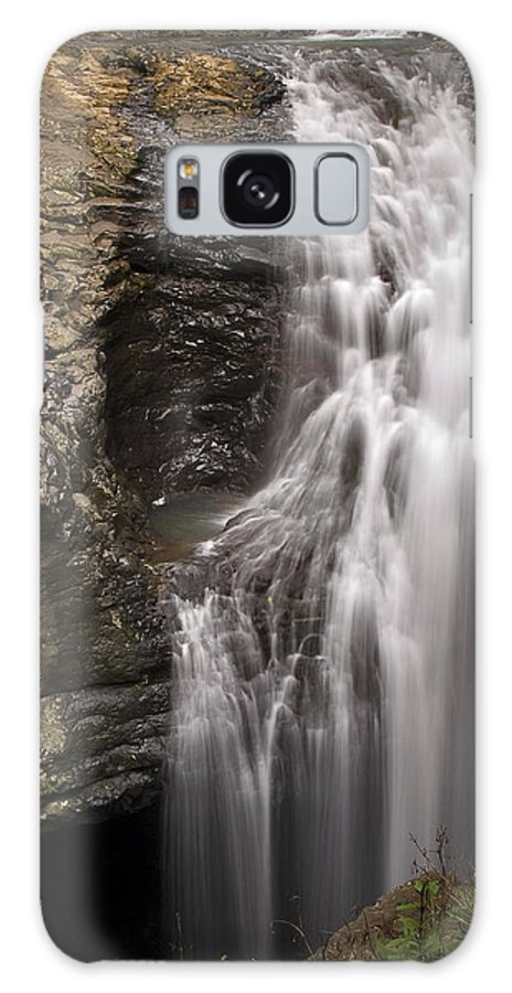 Waterfall Galaxy S8 Case featuring the photograph Natural Bridge - Gold Coast Hinterland by Tony Steinberg