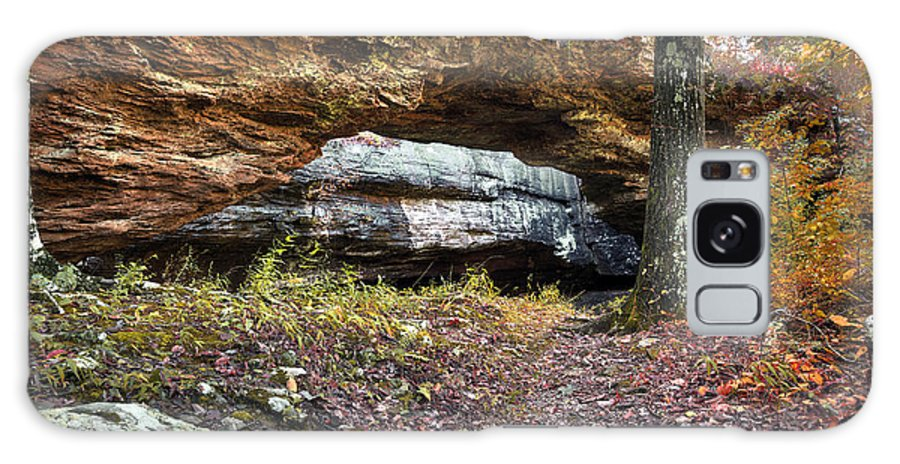 Arkansas Galaxy S8 Case featuring the photograph Natural Rock Bridge by Brandon Alms