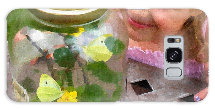 Natural Wonderment By Doug Kreuger Galaxy S8 Case featuring the painting Natural Wonderment by Doug Kreuger