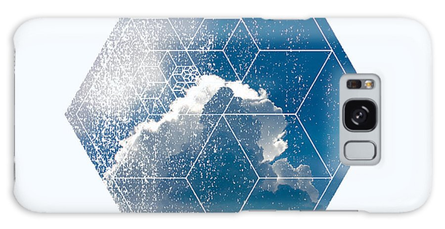 Geometry Galaxy S8 Case featuring the photograph Nature And Geometry - The Clouds by Denis Marsili