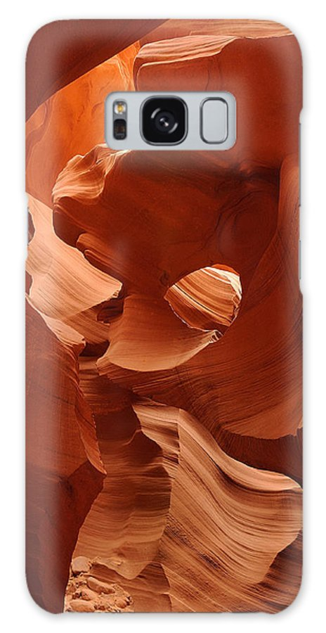 Southwest Galaxy S8 Case featuring the photograph Navajo Red by Jim Southwell
