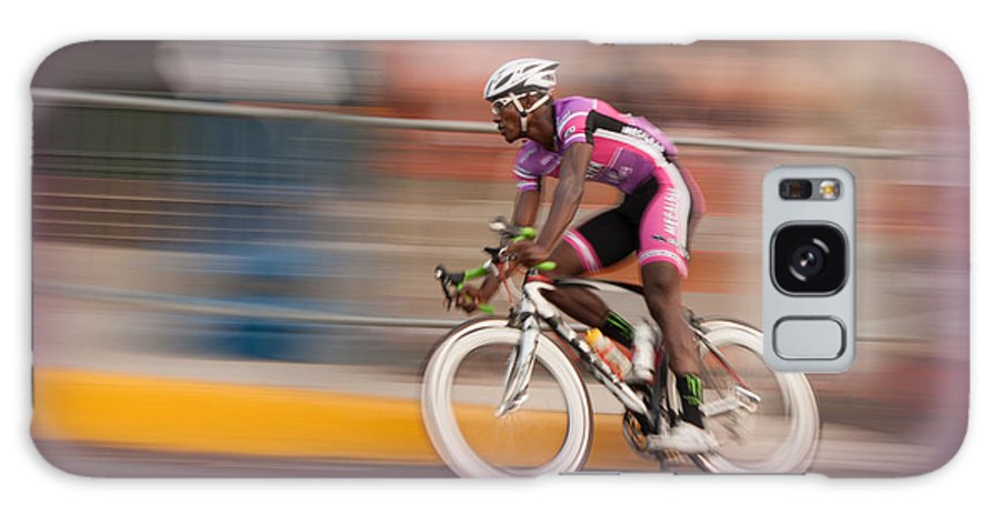 Bicycle Galaxy S8 Case featuring the photograph Need For Speed by Michael Porchik