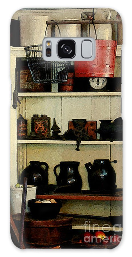 Antiques Galaxy S8 Case featuring the painting Needful Things by RC DeWinter