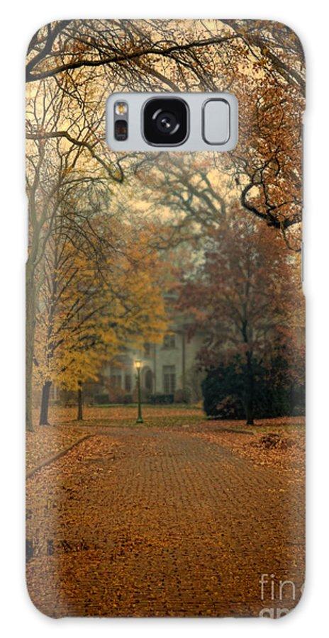House Galaxy S8 Case featuring the photograph Neighborhood Street In Autumn by Jill Battaglia