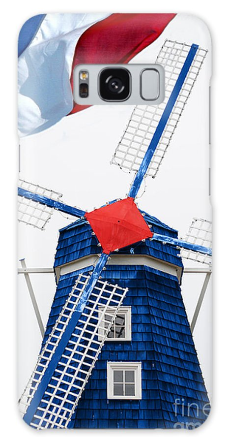 Netherland Galaxy S8 Case featuring the photograph Netherland Windmill by Jost Houk