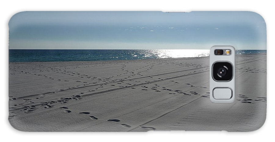 Beach Galaxy S8 Case featuring the photograph New Beach by Jon Cody