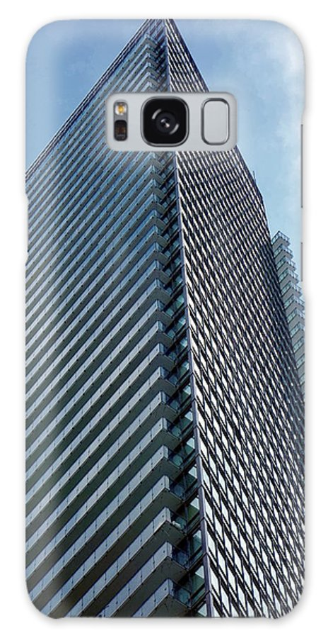 Apartment Galaxy S8 Case featuring the photograph New Condo Building by Valentino Visentini