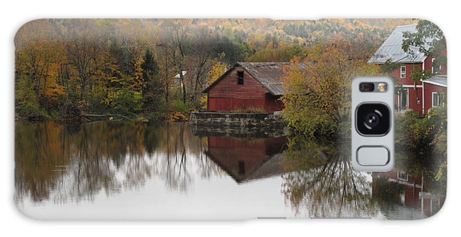 Foliage Galaxy S8 Case featuring the photograph New England Autumn Two by Barbara McDevitt