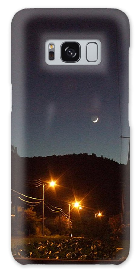 Galaxy S8 Case featuring the photograph New Moon by Katerina Naumenko
