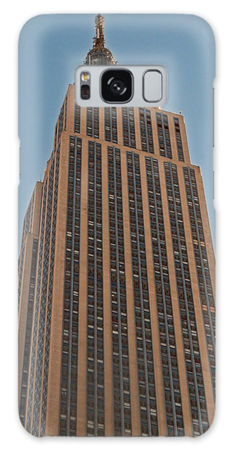 New York Galaxy S8 Case featuring the photograph New York Empire State Building by Richard Bryce and Family