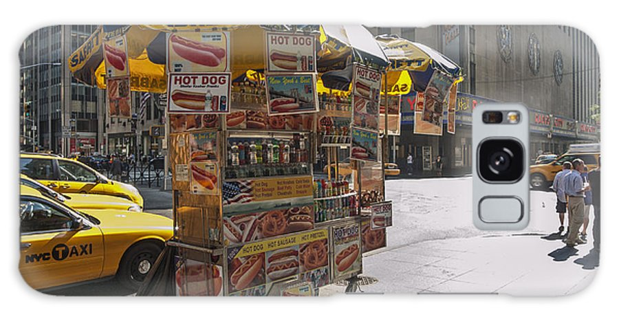 Hotdog Stand Galaxy S8 Case featuring the photograph New York Hotdog Stand by Zbigniew Krol