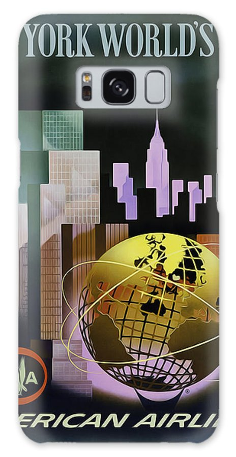 New York Galaxy S8 Case featuring the photograph New York Worlds Fair by Mark Rogan