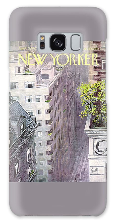 New Yorker April 22nd, 1967 Galaxy Case