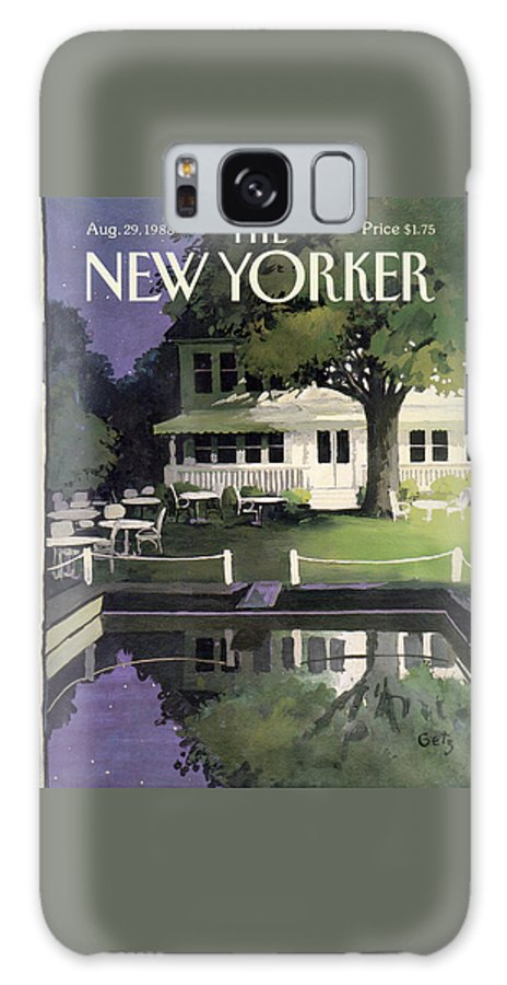 New Yorker August 29th, 1988 Galaxy Case