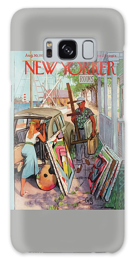 New Yorker August 30th, 1958 Galaxy Case