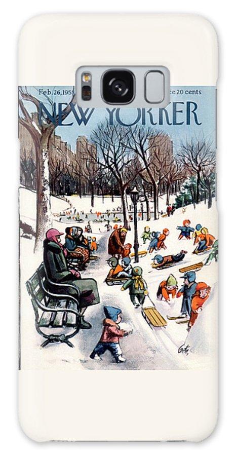 New Yorker February 26th, 1955 Galaxy Case