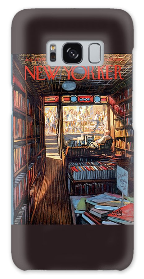 Arthur Getz Agt Galaxy Case featuring the painting New Yorker July 20th, 1957 by Arthur Getz