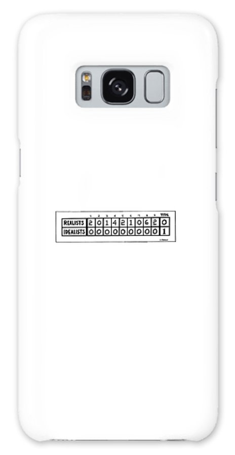 Philosophy Galaxy S8 Case featuring the drawing New Yorker June 28th, 1976 by Dana Fradon