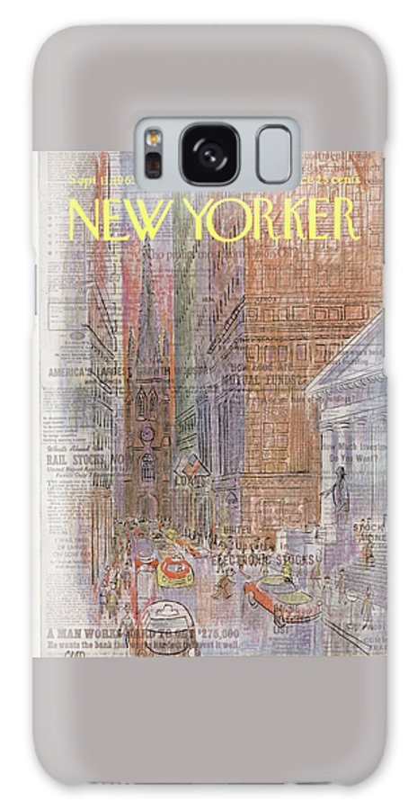 New Yorker September 11th, 1965 Galaxy S8 Case