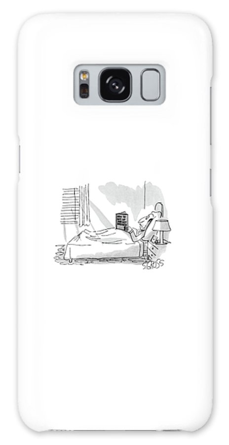 Psychology Galaxy S8 Case featuring the drawing New Yorker September 1st, 1980 by Sam Gross