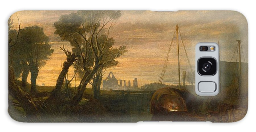 1806 Galaxy S8 Case featuring the painting Newark Abbey by JMW Turner