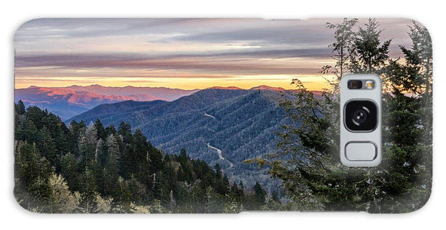 Great Smoky Mountain Galaxy S8 Case featuring the photograph Newfound Gap by Anthony Heflin