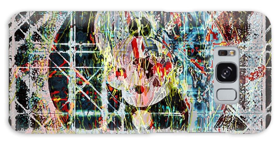 Asegia Galaxy S8 Case featuring the digital art Nexus War by Steven Murphy