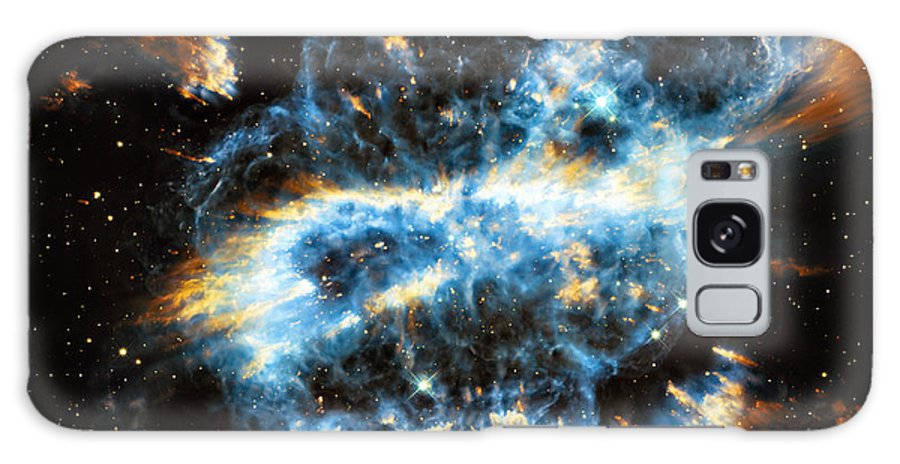 Ngc Galaxy S8 Case featuring the photograph Ngc 5189 by Ricky Barnard