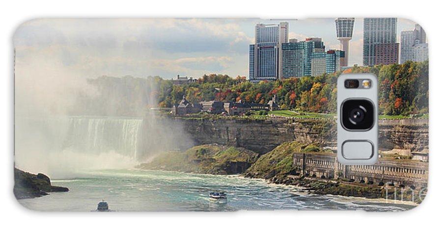 Niagara Falls Galaxy S8 Case featuring the photograph Niagara Falls 4039 by Jack Schultz