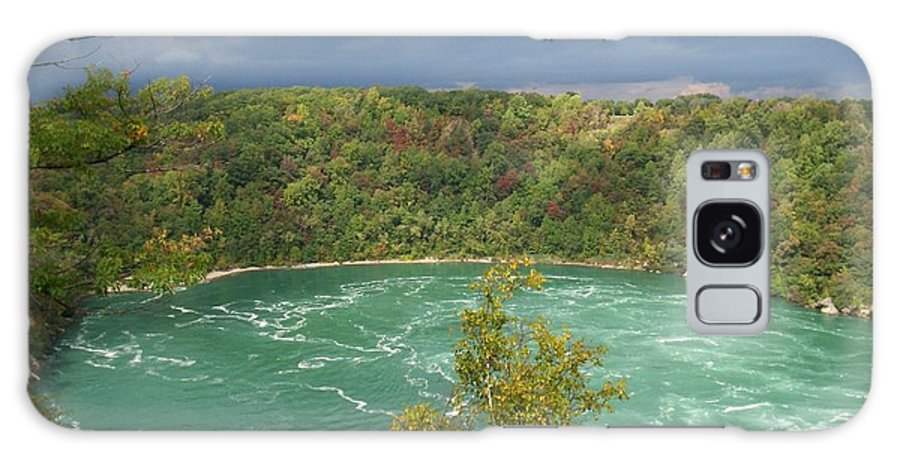 Whirlpool Photographs Galaxy S8 Case featuring the photograph Niagara Whirlpool by Kristen Mohr
