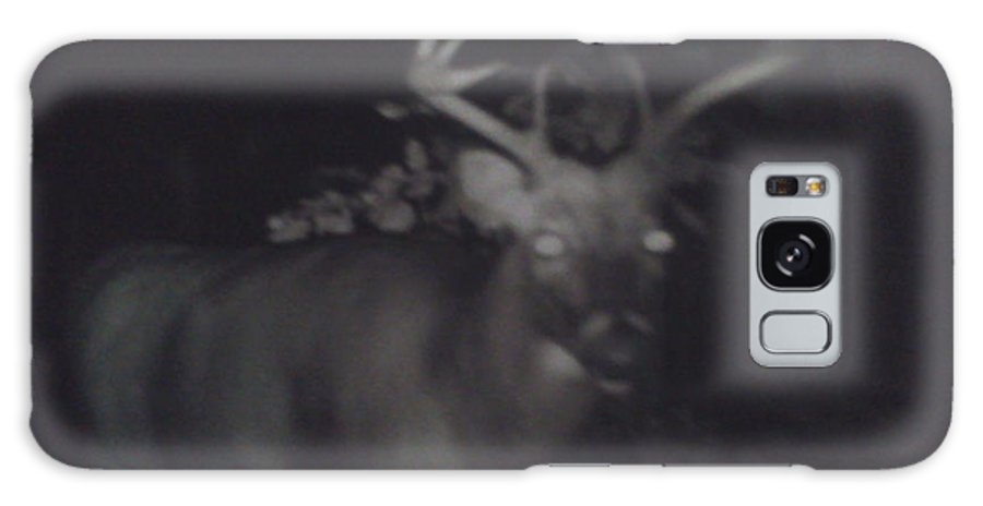 Pencil Galaxy S8 Case featuring the photograph Night Buck by Troy Chevalier