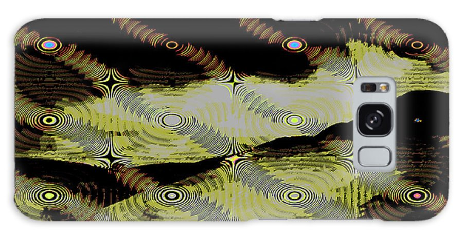 Abstract Galaxy S8 Case featuring the digital art Night Streamers by Jack Bowman
