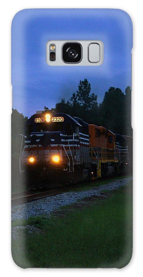 Train Galaxy S8 Case featuring the photograph Night Train by Paul Wilford
