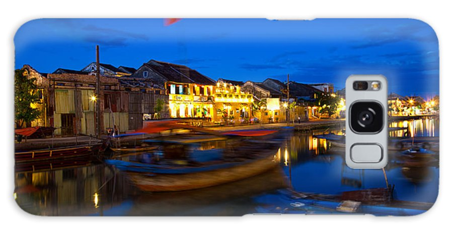 Vietnam Galaxy S8 Case featuring the photograph Night View Of Hoi An City Vietnam by Fototrav Print