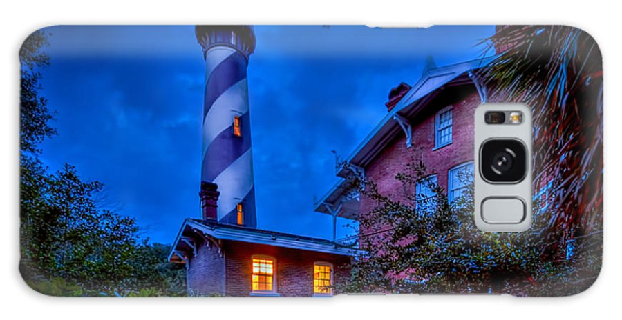 Lighthouse Galaxy S8 Case featuring the photograph Nightshift by Marvin Spates