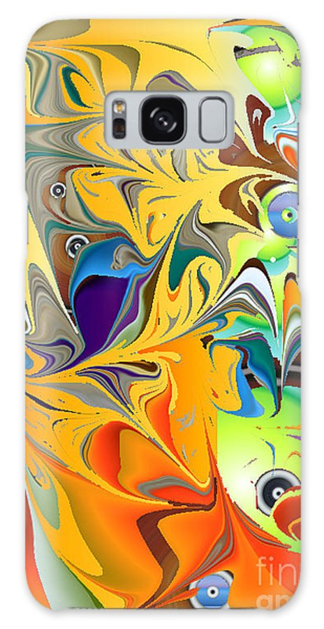 Galaxy S8 Case featuring the digital art No. 141 by John Grieder
