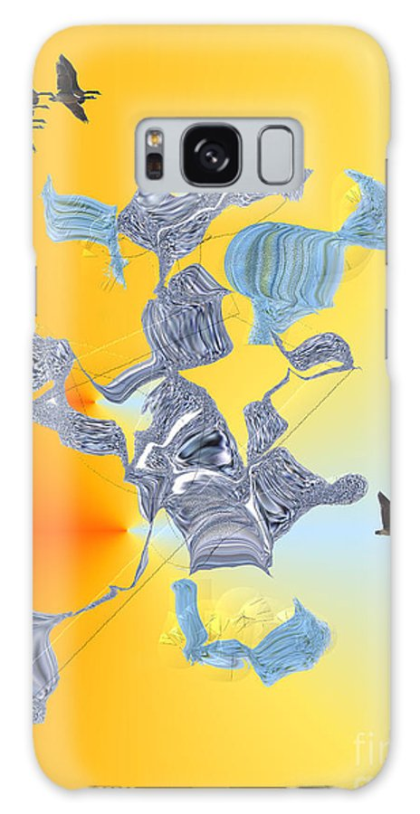 Galaxy S8 Case featuring the digital art No. 692 by John Grieder