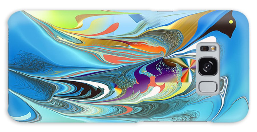 Galaxy S8 Case featuring the digital art No. 696 by John Grieder