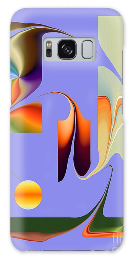 Galaxy S8 Case featuring the digital art No. 812 by John Grieder