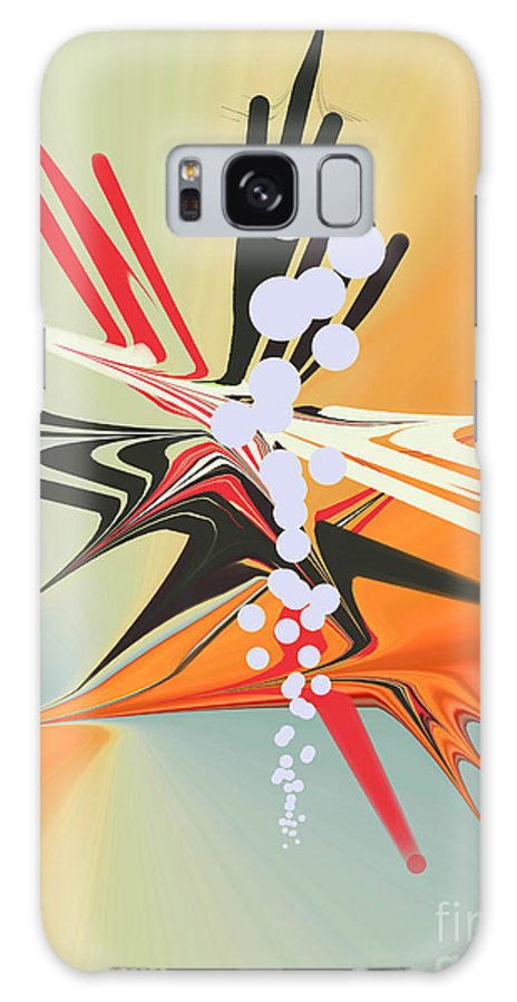 Galaxy S8 Case featuring the digital art No. 815 by John Grieder