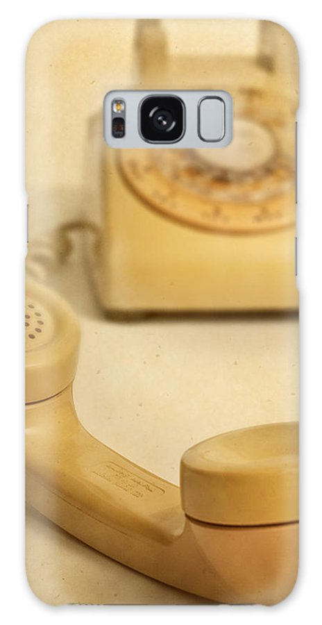 Telephone Galaxy S8 Case featuring the photograph No Cell Phone Here by David and Carol Kelly